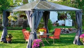 Садовые павильоны и шатры