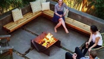 Чаша для костра уют и тепло в вашем саду