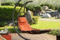 Подвесной шезлонг-качели – комфортный отдых премиум класса в вашем саду