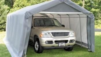 Тентовый гараж – надежное укрытие для автомобиля