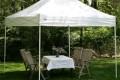 Тент шатер - прекрасное решение для дачи